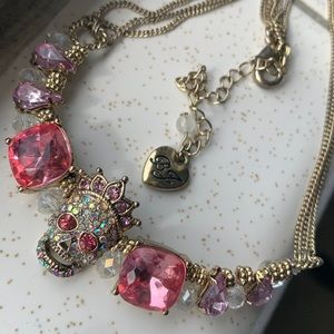 Betsey Johnson Skull Necklace